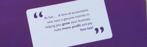 Accountancy services Nottingham